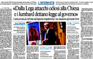 Intervista al Messaggero